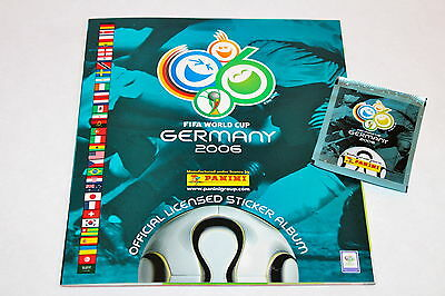Panini WC WM Germany 2006 – Leeralbum EMPTY ALBUM vuoto vacio vide SOUTH AMERICA
