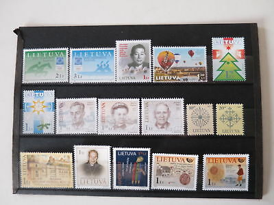LITHUANIA NICE LOT MNH** MODERN  /Ch245