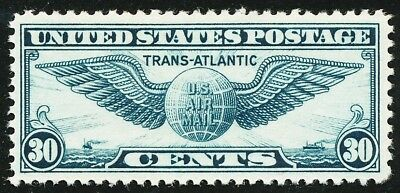 Dr Jim Stamps Us Scott C24 30C Trans Atlantic Unused Og Nh No Reserve