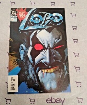 Lobo #1, (1990), VF Shape, DC Comics!