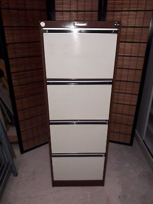 Universal 4 Drawer Filing Cabinet Good Solid Condition
