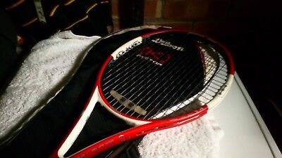 Quality Wilson N Code PRO STAFF Six One Tennis Racket With Cover