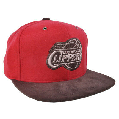 size 40 7d8a7 a6ea1 Mitchell   Ness NBA LA Clippers Team Griffin Logo Basketball Urban  Strapback Hat
