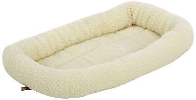 Bunty Deluxe Soft Washable Dog Pet Warm Basket Bed Cushion With Fleece Small