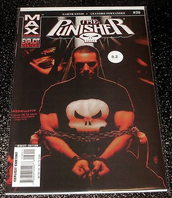 Punisher 39 (9.2) 2004 Series Parental Advisory Explicit Content - MAX Comics