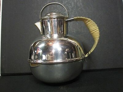 VINTAGE Antique Sheridan Silver plated Coffee Teapot