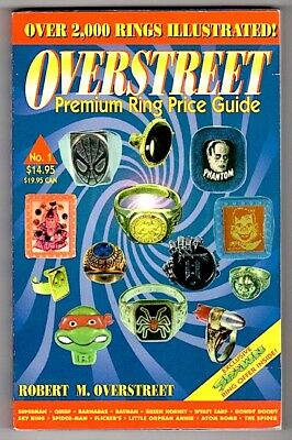 Pb NEW! OVERSTREET PREMIUM RING PRICE GUIDE 1st EDITION 1st Prtng 1994