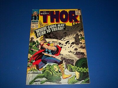 The Mighty Thor #132 Silver Age 1st Ego VF- Beauty