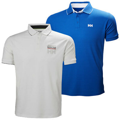 HELLY HANSEN MENS HP Shore Technical Quick Dry Polycotton Polo Shirt ... 1418981ae