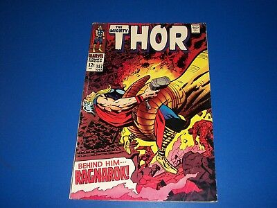 The Mighty Thor #157 Silver Age VGF/Fine-
