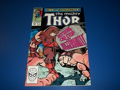 The Mighty Thor #411 VF+ Beauty 1st New Warriors