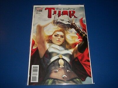 The Mighty Thor #705 Artgerm Lau Variant NM gem Wow