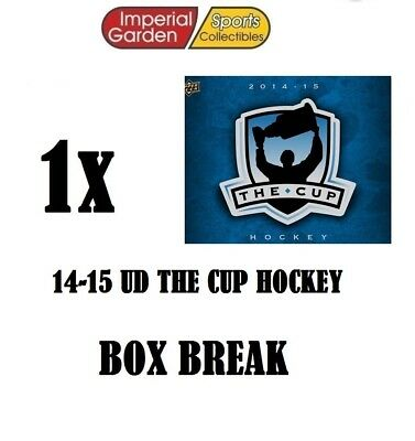 SINGLE * 14-15 * UD THE CUP HOCKEY Box Break #1856- Montreal Canadiens