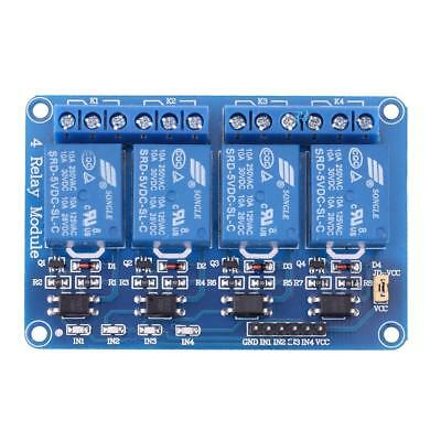 5V Four 4 Channel Relay Module With optocoupler for PIC AVR DSP ARM Arduino NEW