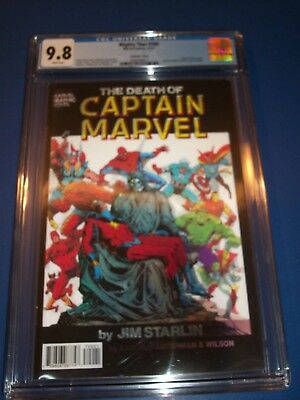The Mighty Thor #700 3D Variant Death of Captain Marvel Homage CGC 9.8 NM/M