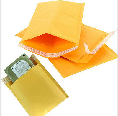 Lots 10/20/50/100X Bubble Envelopes Self Seal Kraft Padded Mailer Shipping Bag