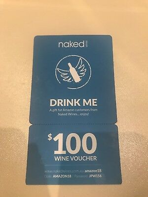 Naked Wines $100 Gift Voucher *NEW*