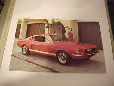 Vintage Original Postcards----1967 Shelby Gt 350-500