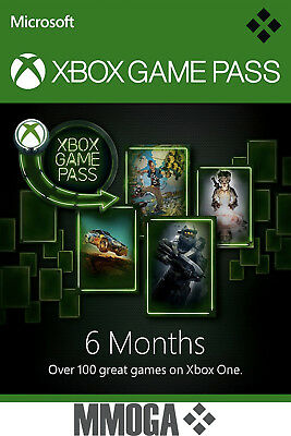 Xbox Game Pass 6 Monate Mitgliedschaft Code - Xbox Live Download key - DE & EU