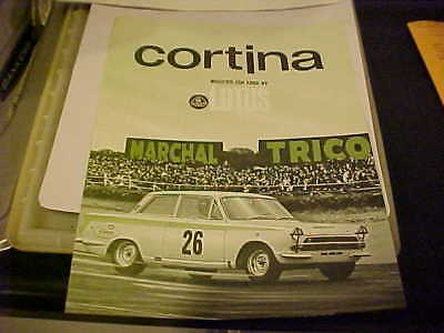 Cortina Made For Ford By Lotus, New Car Brochure