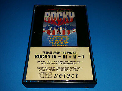 Themes From The Movies ROCKY IV III II I - cassette (1986, CBS Canada) BUT-50169