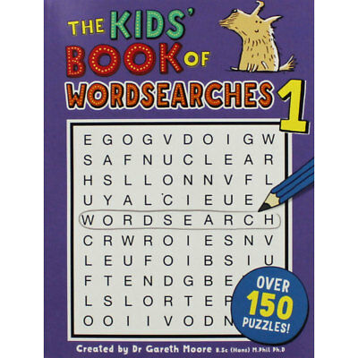 The Kids Book of Wordsearches 1 (Paperback), Children's Books, Brand New