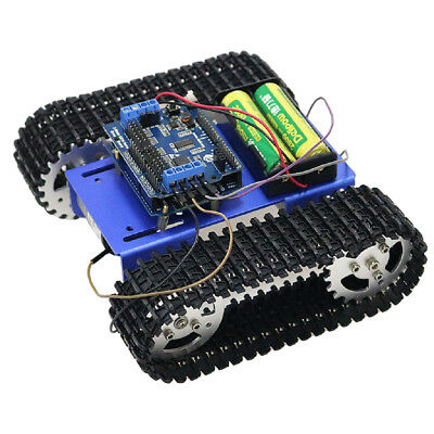 T101 WIFI Control Metal Robot Tank Car Chassis Kit Motor For Arduino DIY