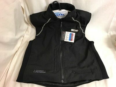 1017 Oxford Heated Motorcycle Vest Size Large
