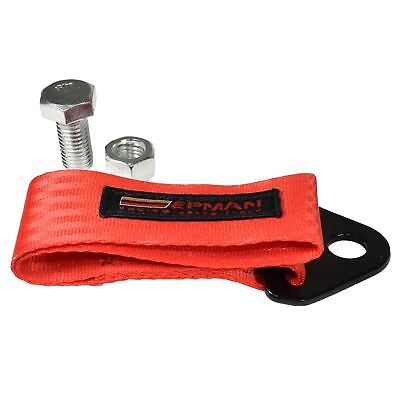 Towing Tow Strap Eye Epman Racing Race Car Van Competition Track Day
