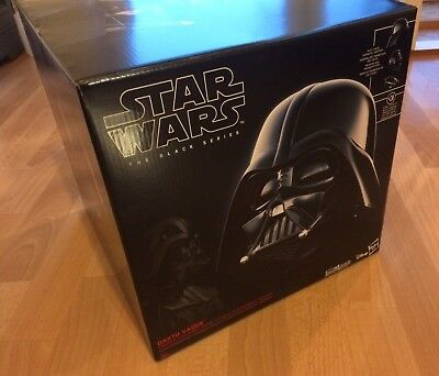 Star Wars - Darth Vader - The Black Series Hasbro - Replica Helm 1:1 - Neu