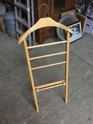 Vintage Fold Up Butlers Mate Coat Jacket Stand Tailor Display    8/1/F