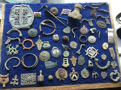 Large Lot Of Detecting Found Artefacts 10