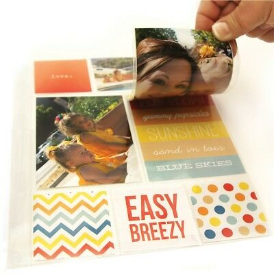 "Sn@p! Photo Flips For 6""x8"" Binders 12/pkg-4""x6"""