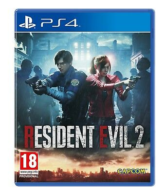 Resident Evil 2 (PS4)  *** PRE-ORDER - RELEASED 25/01/2019 ***  NEW AND SEALED