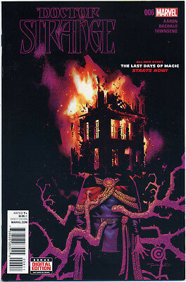 Doctor Strange #6 (Marvel 2016) Near Mint First Print Bagged And Boarded