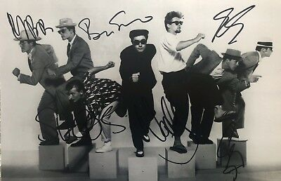 Madness Hand Signed Photo Suggs