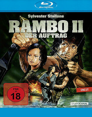 Rambo 2 - Der Auftrag (Sylvester Stallone)       | Uncut Edition | Blu-ray | 275