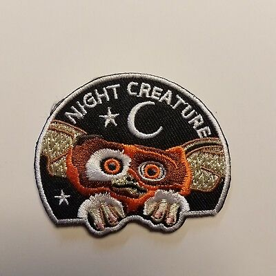 Gremlins Gizmo Night Creature embroidered Patch 2 1/4  inches tall