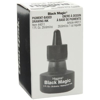 Higgins Magic Ink 1oz-black