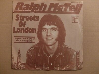 "7"" RALPH McTELL: Streets Of London"