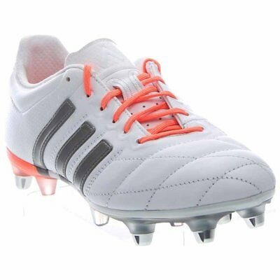 ADIDAS ACE 15.1 Sg Leather W Soccer Cleats - White - Womens -  39.95 ... 8c191d49a