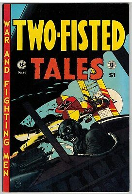 Two-Fisted Tales #34 (East Coast Comix) 1974 Fine+!