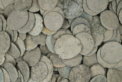 FORVM Lot of 20 Uncleaned Ancient Coins (Mostly or All Roman)