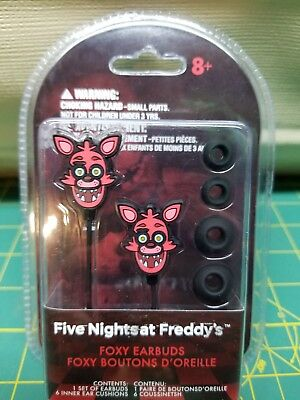FIVE NIGHTS AT FREDDY'S Earbuds Foxy