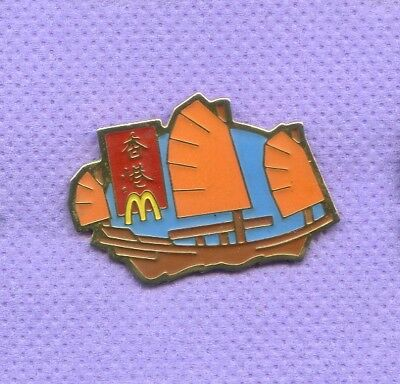 Pins  Mcdonald's  China  Segelboot  Da212