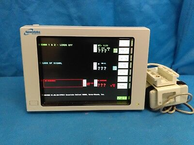 Spacelabs 91369 UltraView SL ECG Patient Monitor and 90496 Module
