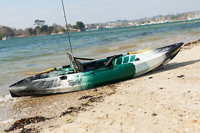 Kayak modulable Tequila GTX Angler Solo Point 65°N pour pêche, camouflage