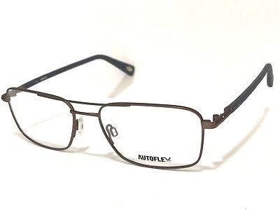 1c81f39877 AUTOFLEX Flexon AF Satisfaction 55mm Brown Mens Rx OPHTHALMIC EYEGLASSES  FRAME