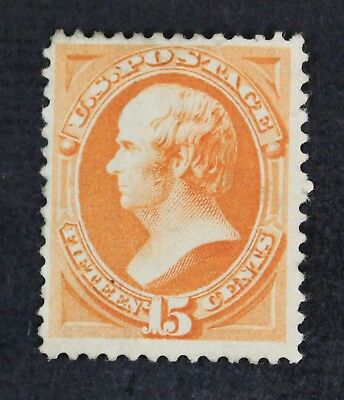 CKStamps: US Stamps Collection Scott#189 15c Mint HR Very Small Part Gum Crease