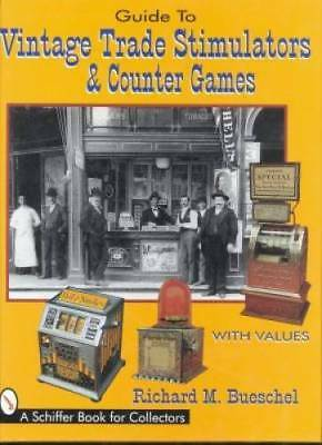 Antique Trade Stimulator Book Coin-Op  Bally Penny Slot
